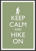 1-Keep calm hike on