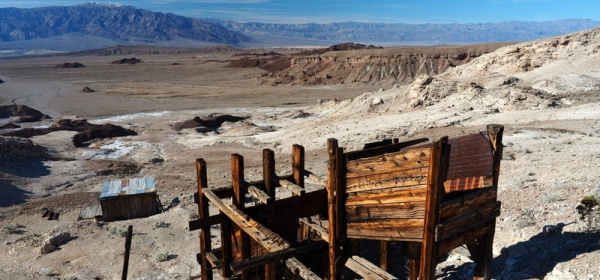 Cyty's Mill, Death Valley National Park, California