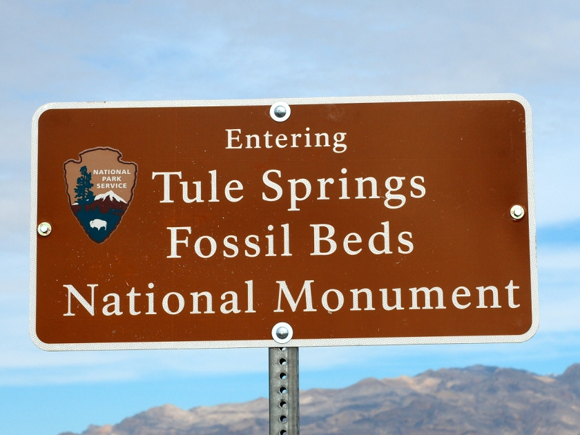 Tule Springs Fossil Beds, Nevada